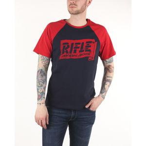 Rifle Póló Kék Piros