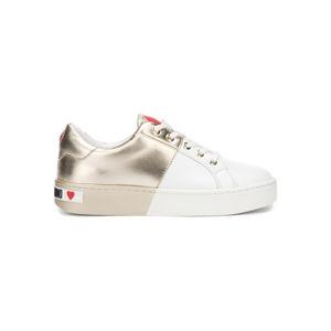 Love Moschino Sportcipő Fehér Arany